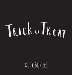 Halloween grunge modern typographic vector