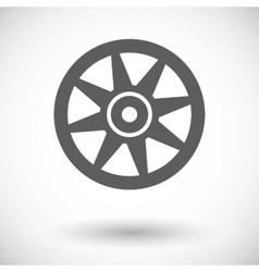 Icon car drive vector