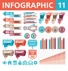 Infographic elements 11 vector