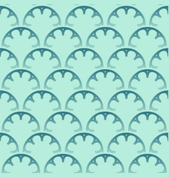 seamless turquoise pattern design vector image