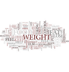 Lose weight the healthy way text background word vector