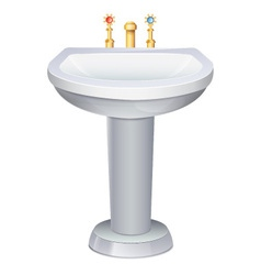Washbasin vector