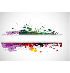 Abstract colorful banner background vector