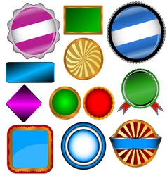 Set of various forms vector