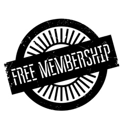 Free membership stamp vector