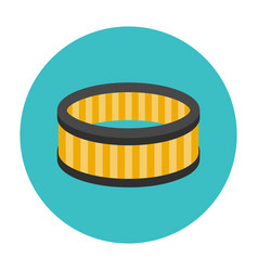 Car air filter icon vector