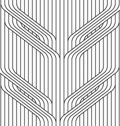 Flat gray with tree branches on continues stripes vector