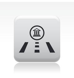 navigate icon vector image