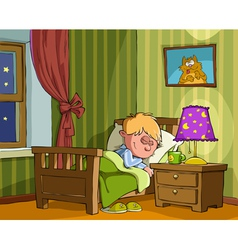 childrens bedroom vector image