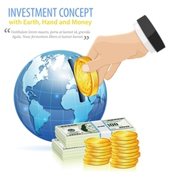 Investment Concept vector image vector image