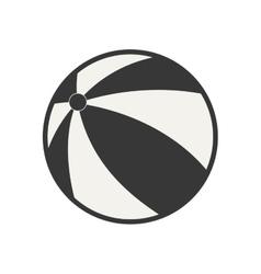 ball toy fun vector image