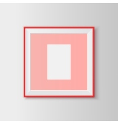 Blank picture frame vector image vector image