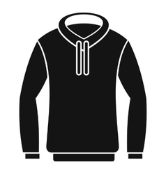 Hoody icon simple style vector