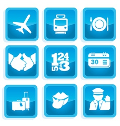 Icons communication 1 vector