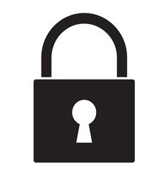 Lock icon1 vector image