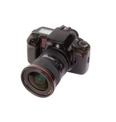 Analog slr camera vector