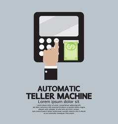 Automatic teller machine vector