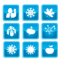 Icons communication 2 vector