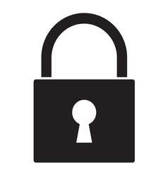 Lock icon1 vector