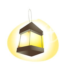 Icon lamp vector