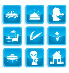 Icons communication 3 vector