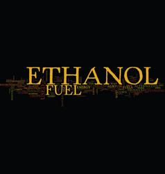 Ethanol as an alternative text background word vector