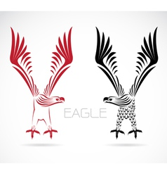 image of an eagle vector image