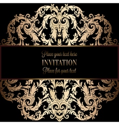 Invitation decorative mandala 01 vector