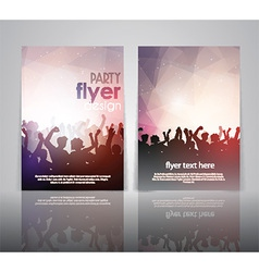 party flyer design 2502 vector image vector image