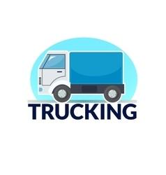 Trucking logo vector