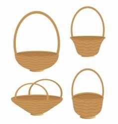baskets vector image vector image