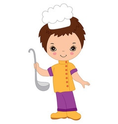 Little chef vector