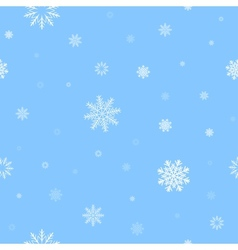 white snow pattern vector image vector image
