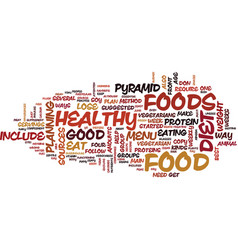 Lose weight with a healthy diet text background vector