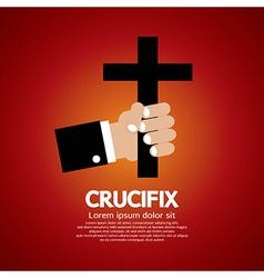 Crucifix vector image