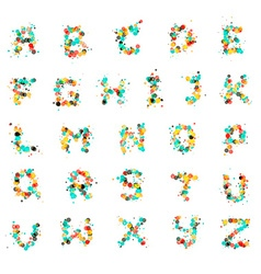 Bubble Letters vector image