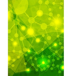Yellow abstract background vector