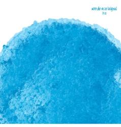 blue watercolor circle 3 vector image