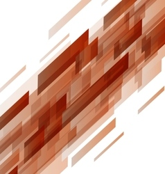 Abstract orange rectangles technology background vector
