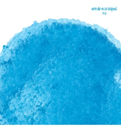 Blue watercolor circle 3 vector