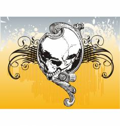 Legion skull illustration vector