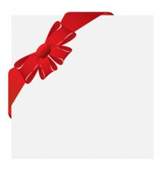 Christmas corner label vector