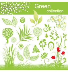nature collection vector image
