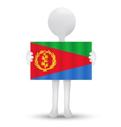 Flag of state of eritrea vector