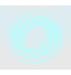 Blue round shape vector