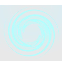 Blue round shape vector