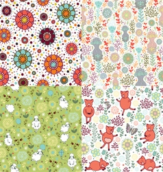 Set of patterns with nature vector