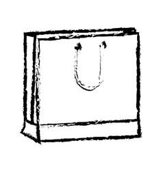Shopping bag market commerce pack image vector