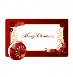 Christmas background blank vector