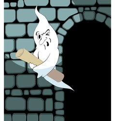 Ghost steals the scroll vector